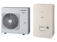Set Toshiba Estia série 5 - 8 kW - HWS-805XWHM3-E